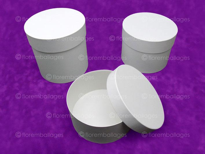 Bien-aimé Fabrication de coffret rond/cylindrique à chapeau habillé sur  ML97