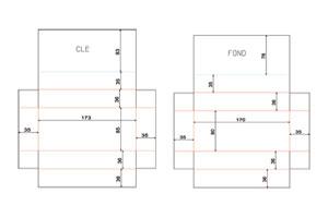 cartonnages fran ais conception de trac de d coupe conception de gabarit d 39 impression. Black Bedroom Furniture Sets. Home Design Ideas